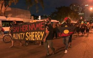 Watchhouse officer suspended after death in custody of Indigenous woman Aunty Sherry