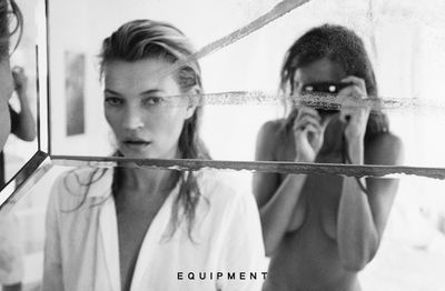 For its spring 2016 campaign, French label Equipment ditched the big name photographers in favour of model Daria Werbowy, who stepped behind the camera to take intimate shots of friend and fellow supermodel Kate Moss. The result? Breathtaking images that make you realise icons  - whether a well-fitted shirt or one of the world's most recognisable faces - never go out of style.