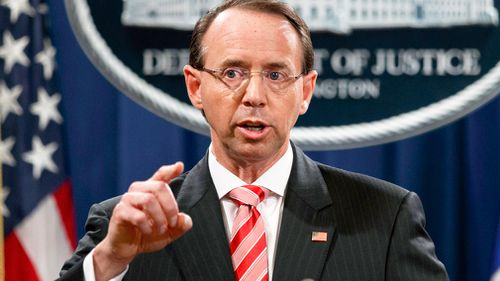 Mr Rosenstein, a former United States attorney in Maryland, will have served as deputy for roughly two years by the time he leaves.