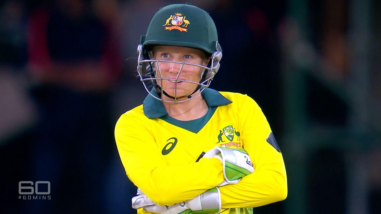 Alyssa Healy defends the pay gap in Australian women's cricket