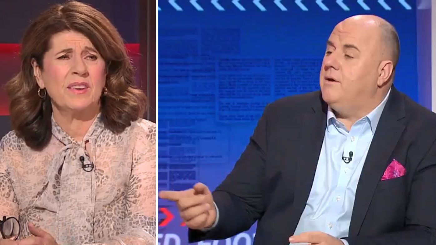 Caroline Wilson and Craig Hutchison lock horns over 'shallow' commentator call