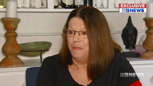 Narelle Campbell had taken cough medicine before her surgery, and nearly died after being given general anaesthetic and having an allergic reaction.