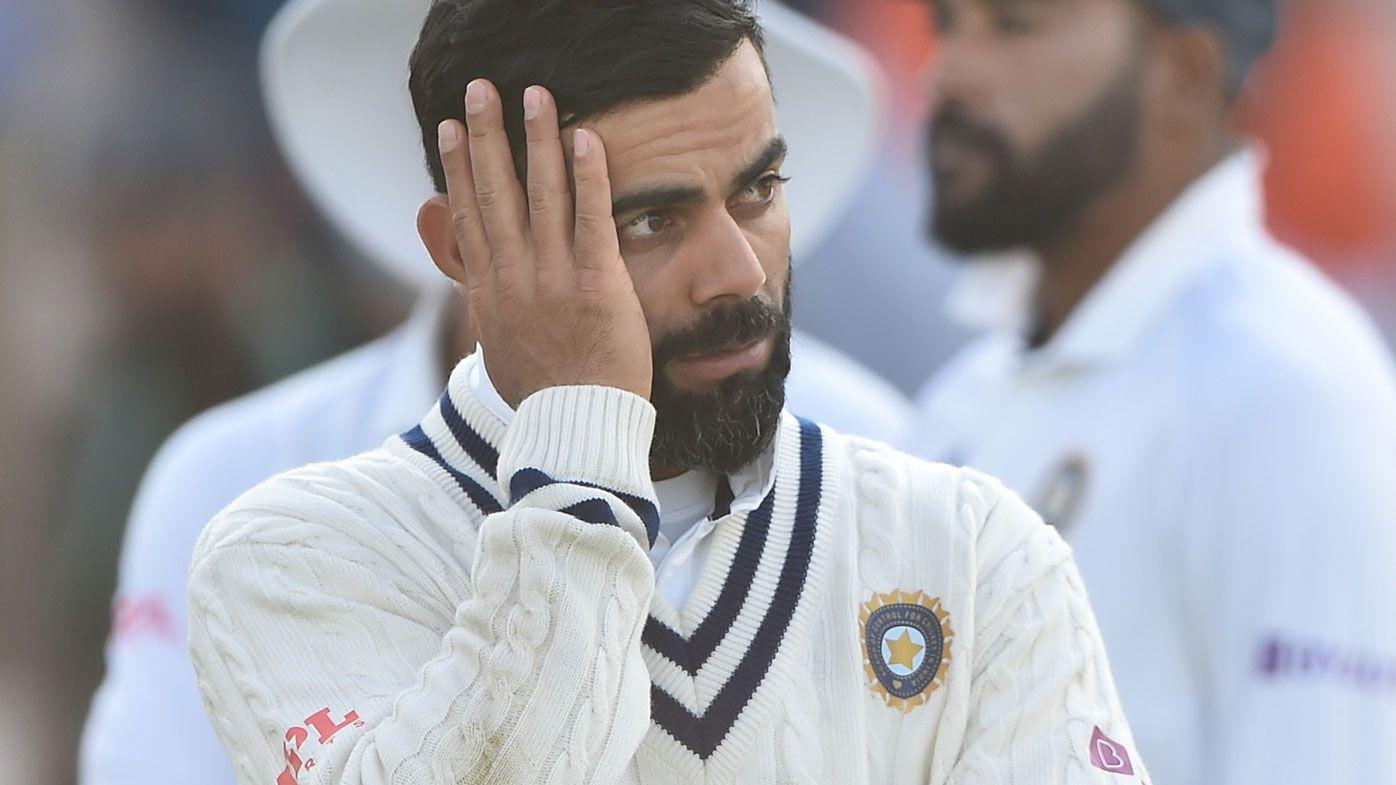 Indian skipper Virat Kohli after New Zealand's win in the World Test Championship final.