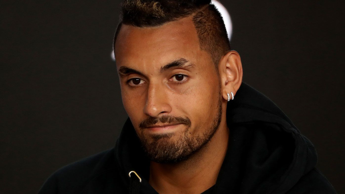 Australian Open: Nick Kyrgios breaks silence on playing future after early first round exit