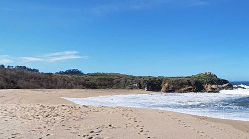 Monastery Beach in Carmel is commonly referred to as 'Mortuary Beach' because of its deadly surf.