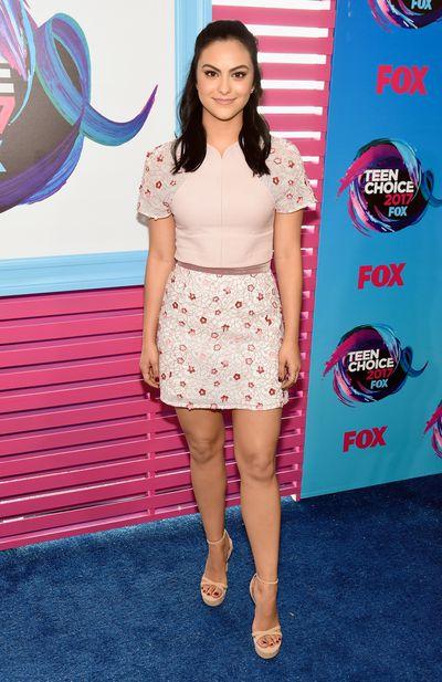 Camila Mendesat the 2017 Teen Choice Awards, LA