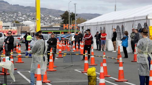 Testing facilities in New Zealand.