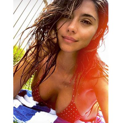 Pia Miller gets some me-time in Coogee