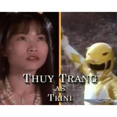 Thuy Trang as Yellow Ranger/Trini Kwan: Then