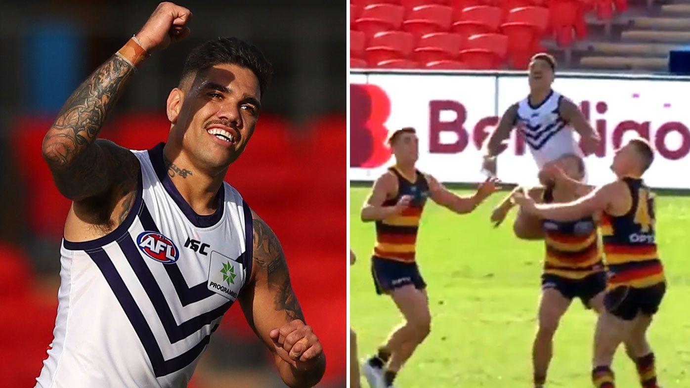 Stunning Michael Walters grab sparks Fremantle to break winless streak against Adelaide