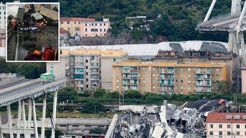 'Apocalyptic scene' as motorway bridge collapses in Italy