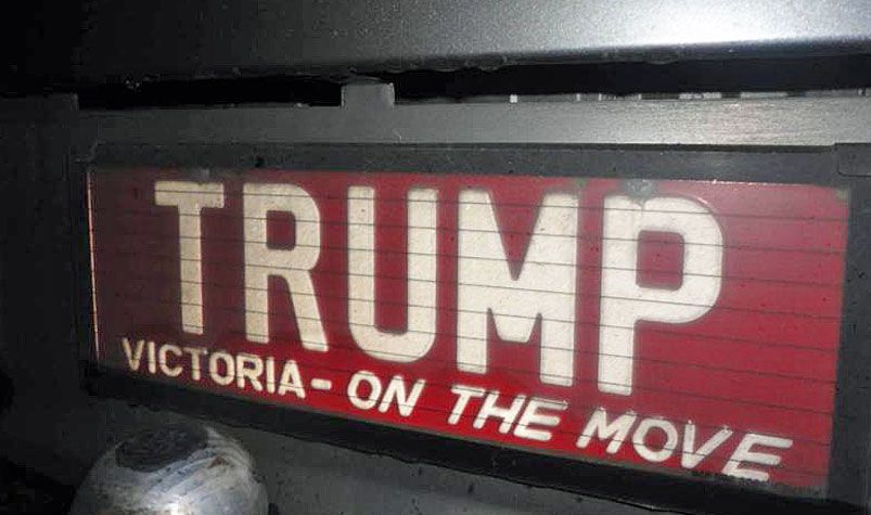 Morris Boccabella bought the personalised plates for about $500 in the 1990s. (Gumtree)