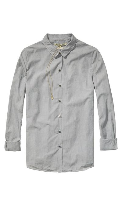 "<p><a href=""http://webstore.scotch-soda.com.au/"" target=""_blank"">Iconic Preppy Shirt, $139.95, Scotch &amp; Soda</a></p>"