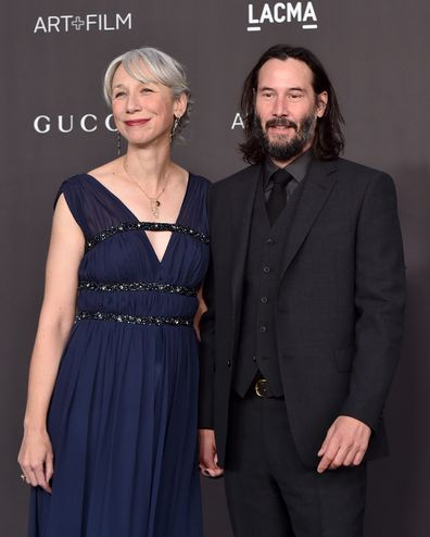 Alexandra Grant, Keanu Reeves, red carpet, debut