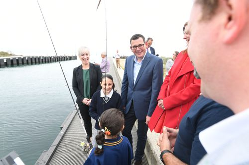 When you're fishing for votes, marginal Mordialloc is not a bad place to cast a line.