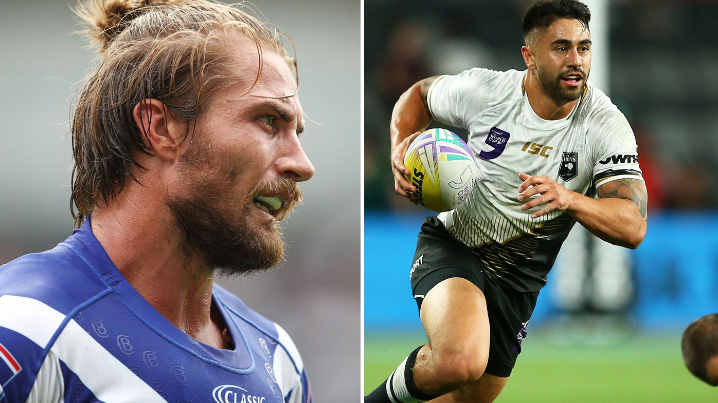 New Zealand axe Shaun Johnson for Kieran Foran ahead of Great Britain Test
