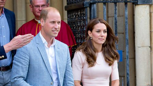 Prince William and his wife Kate will take over some of the charities.