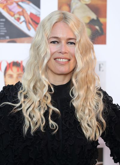 <p>Claudia Schiffer, 46</p> <p>If you have naturally curly hair, flatten down the centre-part with product. Those who need to turn to a curling iron for extra bounce should remember not to curl all the way to the root.&nbsp;</p> <p>&nbsp;</p>