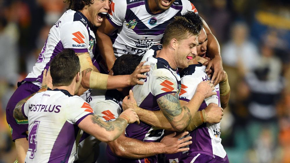 Cronk seals Storm win over Tigers