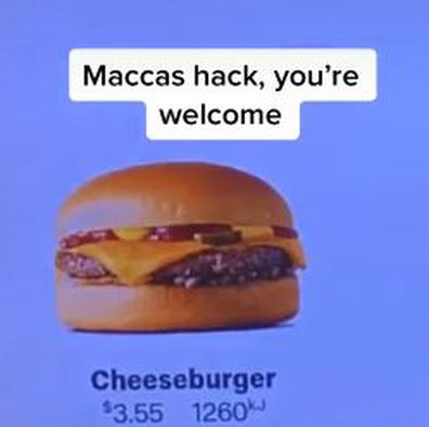 Aussie man labelled a 'hero' for Macca's cheeseburger hack