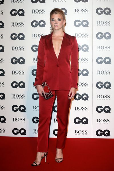 Natalie Dormer at the British GQ Men of the Year Awards