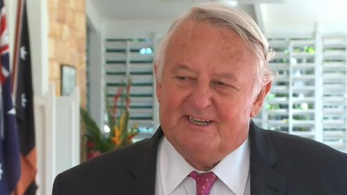 Kenneth Flemming QC was sworn in as the NT's first ICAC Commissioner. Picture: 9NEWS