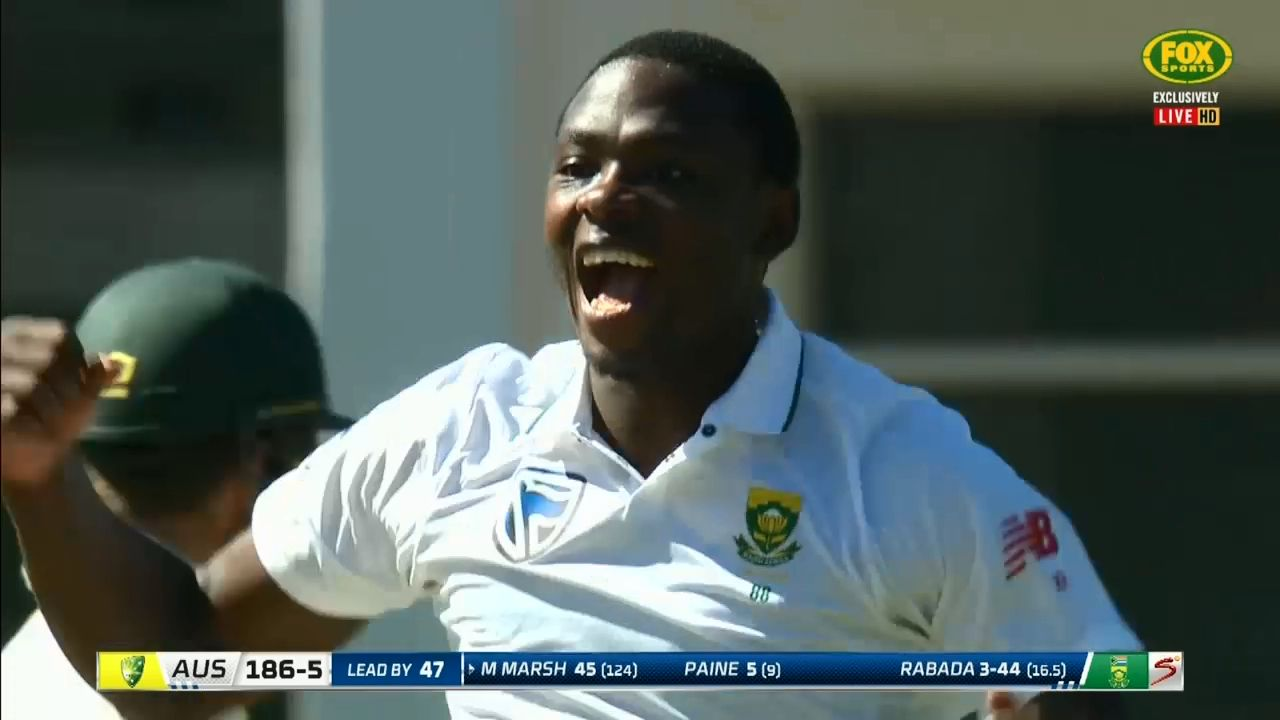 Rabada turns it up to 11 as SA draw level