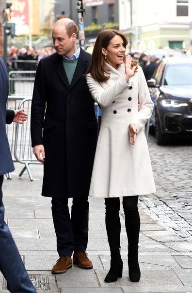 Kate Middleton recycles Reiss coat from 2008 during royal tour Ireland day two