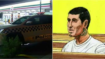 A man has faced court after a violent stabbing attack at a Roxburgh service station overnight.