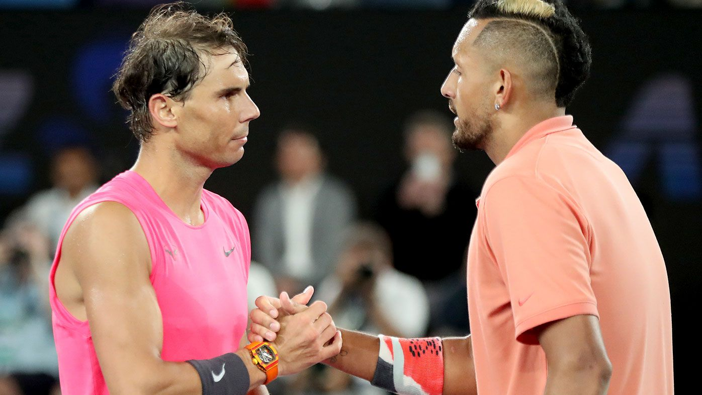 'I like the Nick Kyrgios of this tournament': Rafael Nadal showers praise on new Nick Kyrgios following fourth-round blockbuster