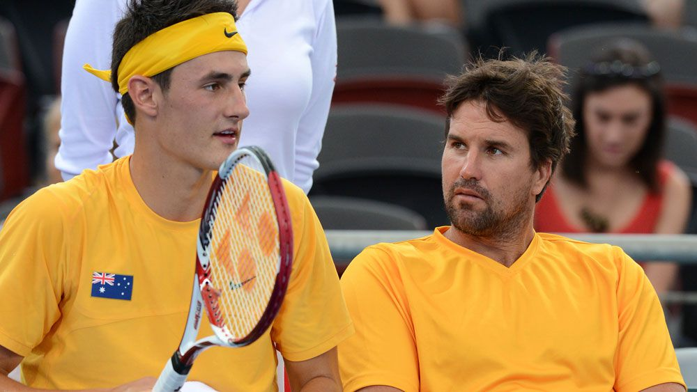 Former Davis Cup captain Pat Rafter regrets 'disgraceful' Bernard Tomic comment