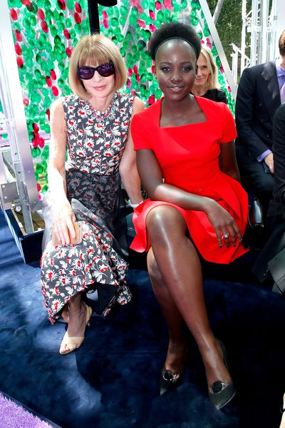 Anna Wintour and Lupita Nyong'o<br>