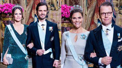 Swedish royals attend gala banquet, November 2019