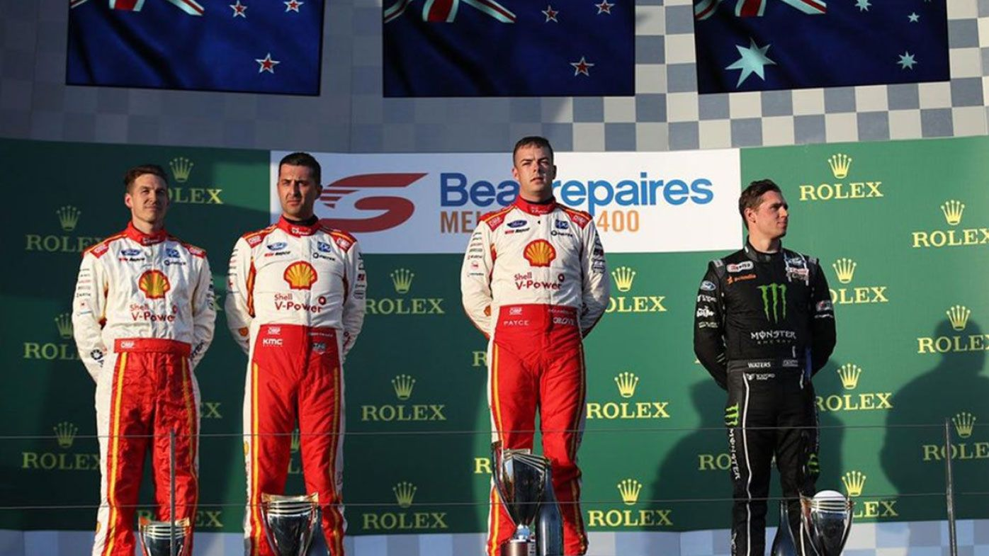 Kiwi Supercars driver Scott McLaughlin dedicates Melbourne 400 win to Christchurch after shooting massacre