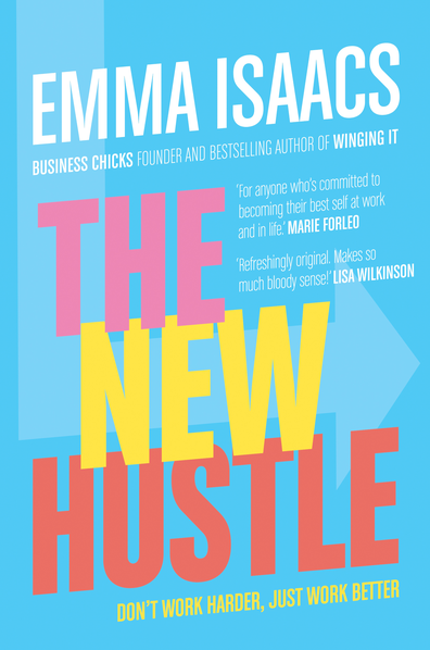 The New Hustle by Emma Isaacs book cover