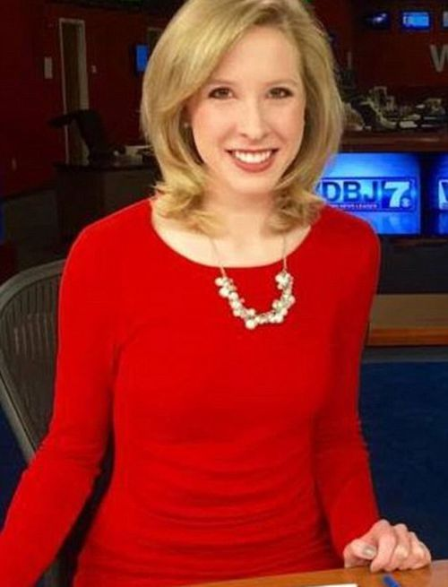 Reporter Alison Parker was shot dead live on US breakfast television last night. (Supplied)