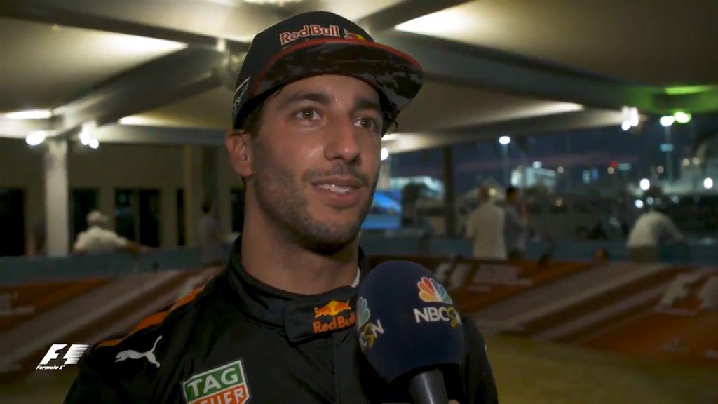 Ricciardo's 'bitter' end to F1 season