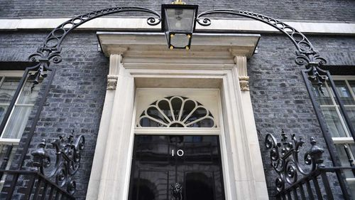 Ten Downing Street is being vacated by Theresa May.