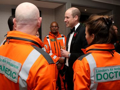 Prince William at the London's Air Ambulance Charity gala