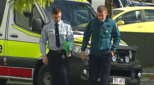 When paramedics were treating Mr Dobb on the way to hospital, its alleged he sucked blood from an open wound on his finger and spat it at one of the ambulance crew.