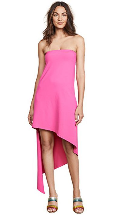 "<a href=""https://www.shopbop.com/strapless-spiral-dress-susana-monaco/vp/v=1/1556009734.htm?fm=search-viewall-shopbysize&os=false"" target=""_blank"" title=""Susano Monaco strapless Spiral Dress in Punch Pink, $291.08"">Susano Monaco strapless Spiral Dress in Punch Pink, $291.08</a>"