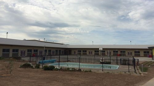The pool at Hopkins Correctional Facility in Ararat, where George Pell may spend the rest of his sentence.
