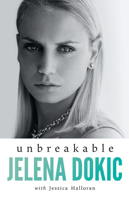 "Dokic recently released her book, ""Unbreakable"",  which she says was the catalyst for the foundation idea (Penguin Books)."