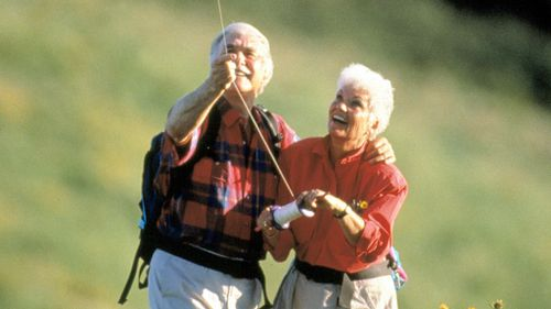 Senior citizens enjoying life. (AAP file)