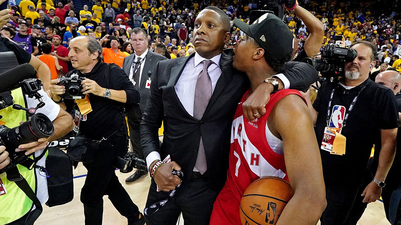 Dramatic new bodycam footage shows police officer shoved Raptors' president during altercation