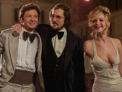 <strong> Best Supporting Actress: Jennifer Lawrence, <em>American Hustle</em></strong> <p><br/>Could Jennifer Lawrence win yet more awards in 2014? It certainly looks that way! Here's who she's up against in the Best Supporting Actress category:</p> <p>Sally Hawkins, <em>Blue Jasmine</em><br/><br/>Lupita Nyong'o - <em>12 Years a Slave</em><br/>Julia Roberts - <em>August: Osage County</em><br/>June Squibb - <em>Nebraska</em>