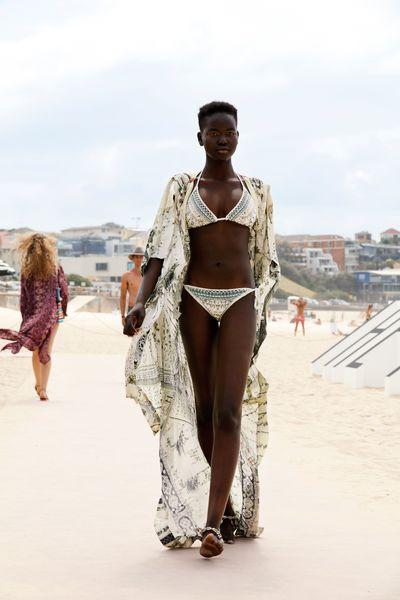 "Bikini: Camilla, $329 at <a href=""http://www.theiconic.com.au/tri-bikini-with-crochet-edge-393320.html"" target=""_blank"">The Iconic</a>&nbsp;"