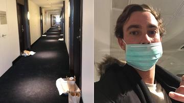 Coronavirus: Inside hotel quarantine at the Hilton.