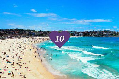 <strong>10.&nbsp;Bondi Beach, Sydney</strong>