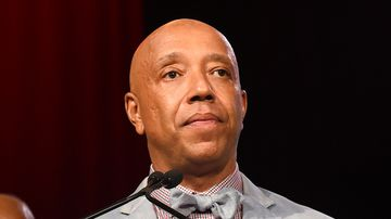 Russell Simmons speaks appears at the RUSH Philanthropic Arts Foundation's Art for Life Benefit in July 2015. (AAP)